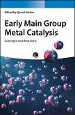 Early Main Group Metal Catalysis