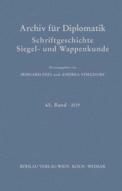 Archiv für Diplomatik, Schriftgeschichte, Siegel- und Wappenkunde