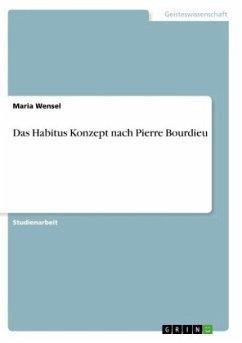 Das Habitus Konzept nach Pierre Bourdieu
