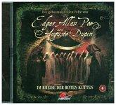 Die geheimnisvollen Fälle von Edgar Allan Poe und Auguste Dupin - Im Kreise der roten Kutten, 1 Audio-CD