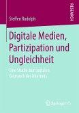 Digitale Medien, Partizipation und Ungleichheit (eBook, PDF)