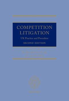 Competition Litigation (eBook, ePUB)
