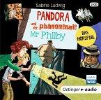 Pandora und der phänomenale Mr Philby, 2 Audio-CDs (Mängelexemplar)