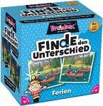 Carletto 2094916 - Brain Box Finde den Unterschied, Ferien, Lernspiel, Denkspiel, Gedächtnisspiel, Konzentrationsspiel