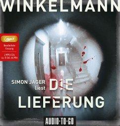 Die Lieferung / Kerner und Oswald Bd.2 (2 MP3-CDs) - Winkelmann, Andreas