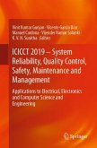 ICICCT 2019 - System Reliability, Quality Control, Safety, Maintenance and Management (eBook, PDF)