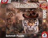 Schmidt 59646 - Steampunk, Markus Binz, Tiger, Puzzle, 1000 Teile