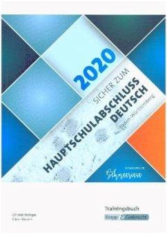 Sicher zur Hauptschulabschlussprüfung Deutsch Baden-Württemberg 2019/2020 - Krapp, Ines