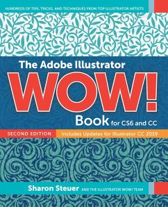 The Adobe Illustrator WOW! Book for CS6 and CC (eBook, PDF) - Steuer, Sharon