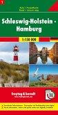 Freytag & Berndt Auto + Freizeitkarte Schleswig-Holstein - Hamburg, 1:150.000