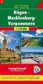 Freytag & Berndt Auto + Freizeitkarte Rügen - Mecklenburg-Vorpommern, 1:150.000
