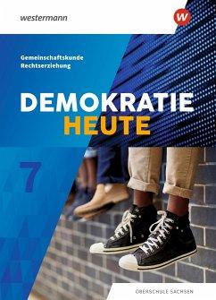 Demokratie heute 7. Schülerband. Sachsen