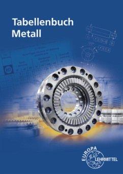 Tabellenbuch Metall - Gomeringer, Roland;Kilgus, Roland;Menges, Volker