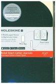 Moleskine Smart Cahier - Notizheft 2er Set, Pocket, A6, Liniert, Kartoneinband, Schwarz