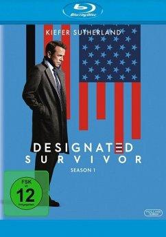 Designated Survivor - Staffel 1 BLU-RAY Box - Sutherland,Kiefer