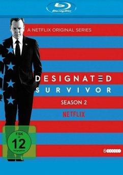 Designated Survivor - Staffel 2 BLU-RAY Box - Kiefer Sutherland,Michael J.Fox,Kim Raver
