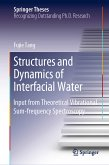 Structures and Dynamics of Interfacial Water (eBook, PDF)