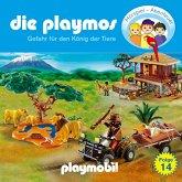 Die Playmos - Das Original Playmobil Hörspiel, Folge 14: Gefahr für den König der Tiere (MP3-Download)