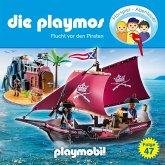 Die Playmos - Das Original Playmobil Hörspiel, Folge 47: Flucht vor den Piraten (MP3-Download)