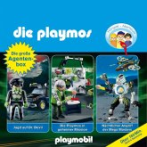 Die Playmos - Das Original Playmobil Hörspiel, Die große Agenten-Box, Folgen 19, 23, 31 (MP3-Download)