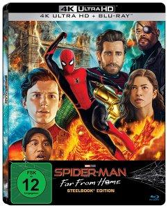 Spider-Man: Far From Home 4K Ultra HD Blu-ray + Blu-ray / Steelbook