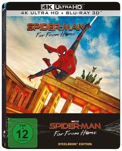 Spider-Man: Far From Home 4K Ultra HD Blu-ray + Blu-ray 3D / Steelbook