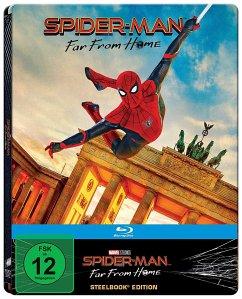 Spider-Man: Far from Home, 1 Blu-ray (Steelbook Brandenburger Tor)