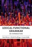 Lexical-Functional Grammar (eBook, PDF)