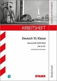 STARK Arbeitsheft Realschule - Deutsch BaWü - Ganzschrift 2019/20 - de Vigan: No & ich