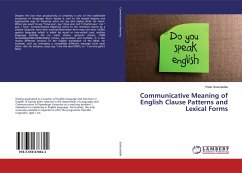 Communicative Meaning of English Clause Patterns and Lexical Forms