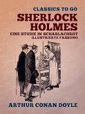 Sherlock Holmes - Eine Studie in Scharlachrot, Illustrierte Fassung (eBook, ePUB)