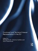 Functional and Territorial Interest Representation in the EU (eBook, ePUB)