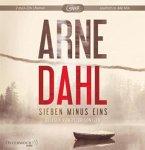 Sieben minus eins / Berger & Blom Bd.1 (2 MP3-CDs) (Mängelexemplar)