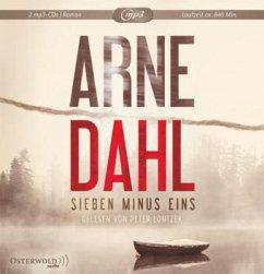 Sieben minus eins / Berger & Blom Bd.1 (2 MP3-CDs) (Mängelexemplar) - Dahl, Arne