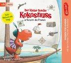 Der kleine Drache Kokosnuss erforscht die Piraten / Der kleine Drache Kokosnuss - Alles klar! Bd.4 (1 Audio-CD)