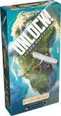 Asmodee SCOD0026 - Unlock! Die Insel des Dr. Goorse, Strategiespiel, Reisespiel