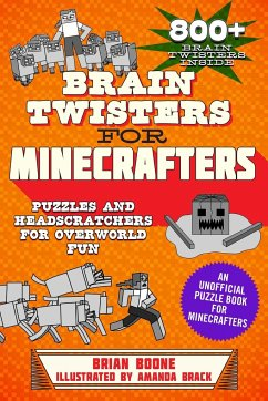 Brain Twisters for Minecrafters - Boone, Brian