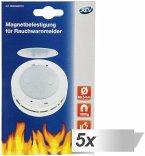 5x1 REV Magnetbefestigung für Rauchmelder