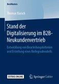 Stand der Digitalisierung im B2B-Neukundenvertrieb