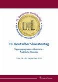 13. Deutscher Slavistentag