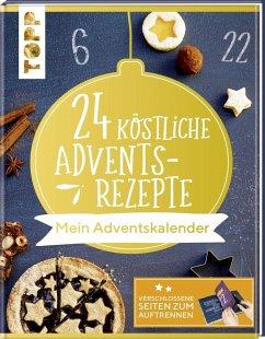 24 köstliche Adventsrezepte. Mein Adventskalender (Mängelexemplar)