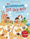 Mein monsterlanges Zick-Zack-Buch: Fang den Schnurk! (Mängelexemplar)