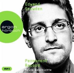 Permanent Record, 2 Audio-CD, MP3 - Snowden, Edward