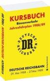 Kursbuch der Deutschen Reichsbahn 1988/89