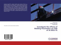 Investigate the effects of Welding Parameters on FSW of Al 6063-T6