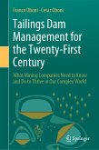 Tailings Dam Management for the Twenty-First Century (eBook, PDF)
