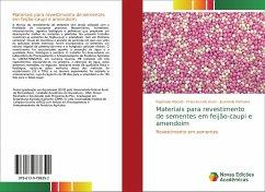 Materiais para revestimento de sementes em feijão-caupi e amendoim