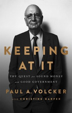 Keeping At It - Harper, Christine; Volcker, Paul A.