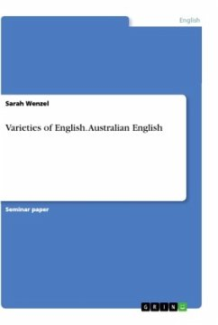 Varieties of English. Australian English