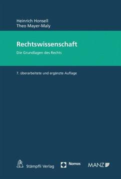 Rechtswissenschaft (eBook, PDF) - Honsell, Heinrich